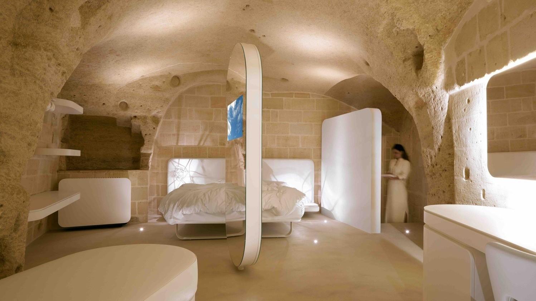 阿奎地奥洞穴酒店与水疗中心:一滴水,及其不断下落的纯粹意象
