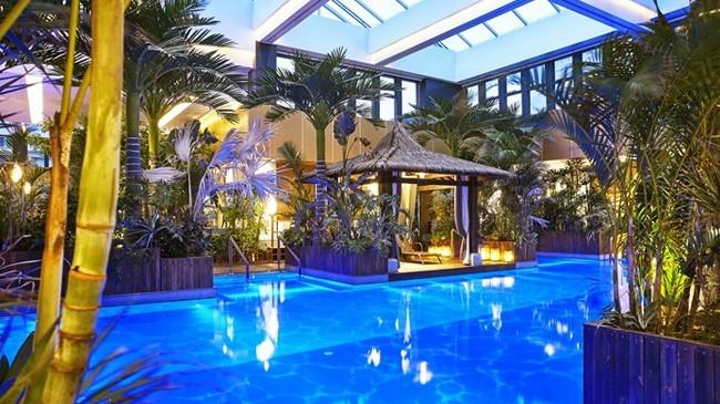 河北固安来康温泉酒店设计 蕴含文化底色的写意山水林园温泉