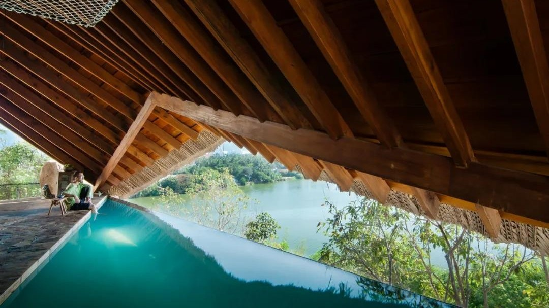 亿伽泉温设计│帐篷温泉:矿产度假胜地内的小型水疗中心